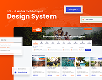 Design System & UI/UX - Tour & Travel Website