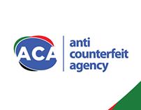 Anti-Counterfeit Agency Logo rebrand