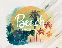 Beach Sessions - Free PSD Flyer Template