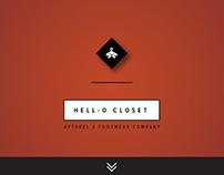 Hell-o Closet: Fashion Webstore