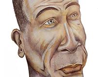 Caricature of Diederik Samsom