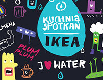 Design for IKEA, topic: save the water.