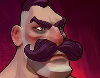 Steampunk Man Bust