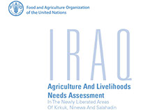 FAO-AGRICULTURE AND LIVELIHOODS NEEDS ASSESSMENT