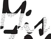 Typographic Composition - Mistral