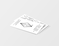 AS Art Gallery Business Card