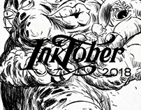 INKTOBER 2018 LEO SASTRE