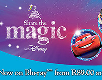 Disney Share the Magic Online banners