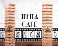 Cinema Themed Cafe Baku - Interior Design