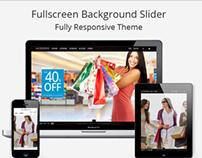Moderns - fullscreen background OpenCart theme
