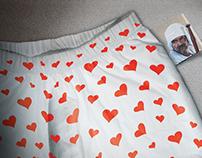 Dice underwear hidden personality campaign