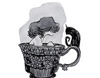 Tea bathing