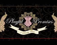 Playful Promises Lingerie - design work