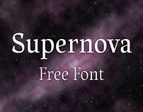 Supernova - Free Font