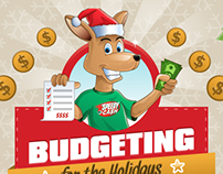 Bundgeting For The Holidays Infographic