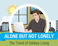 Alone But Not Lonely Infographic