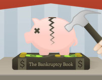 The Bankruptcy Book Infographic