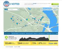 Foursquare - I Voted