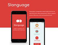 Slanguage App
