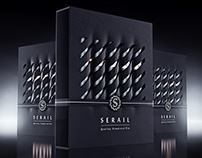 Serail Powder Tea, packaging concept.