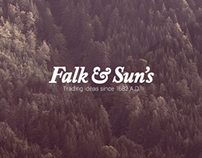 Falk&Sun's Logo re-design