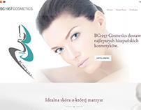 Web de distribuidora de cosméticos bc1957