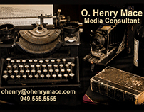 Media Consultant Business Cards
