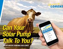 American West Windmill / Lorentz™ Magazine Ads