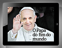 O Papa do fim do mundo . iPad app