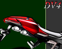 DUCATI DV4 1000R (an alternative directional concept)..