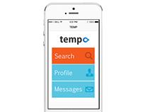 Temp.com Job Agency App