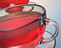 3D Modeling - Tea Cup