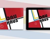 Bauhaus / Book + iPad