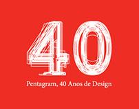Pentagram, 40 anos de Design