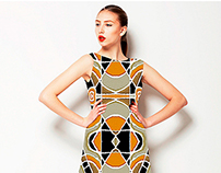 Geometric Abstract Ethnic Pattern