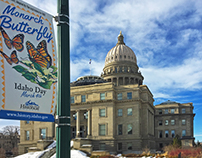 Idaho State Historical Society Banners