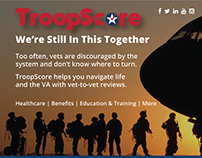 TroopScore for Veterans (Features and Benefits)