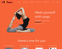 Landing Page for a1000yoga