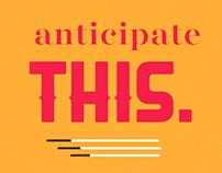 Anticipation Animation