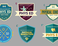 PE logos