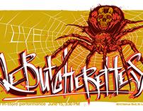 Le Butcherettes music poster