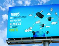 Movistar - Todos los Smartphones van al cielo