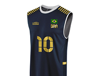 Brazil Volleyball Uniform