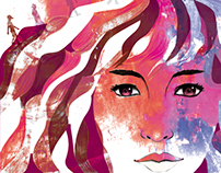 """""""Blu"""" Ilustración Digital"""