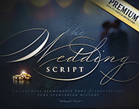 The Wedding Script by BlessedPrint