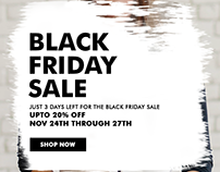 Black Friday Sale Ad