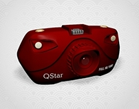 "High Speed miniature camera ""Red Dragon"" (in-car)"