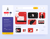 Illustrations store app