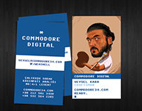 Commodore Digital Business Card