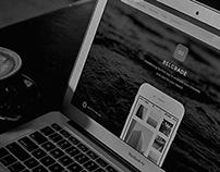 Belgrade - App Landing Page